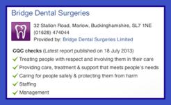 CQC-Report-on-Bridge-Dental-Surgeries-Marlow