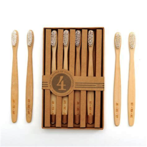 Get a Bamboo toothbrush an ECO Friendly alternative to plastic